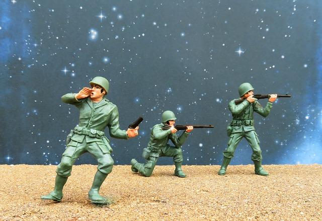 plastový vojáčci